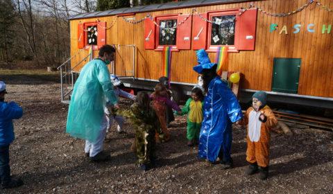 Fasching Waldkindergarten Ismaning